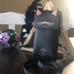 Kate Spade Cat Crossbody Cell Phone Purse